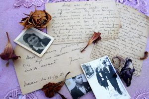 old fashioned letter writing